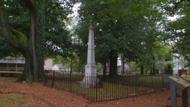 Sam Davis home cemetery