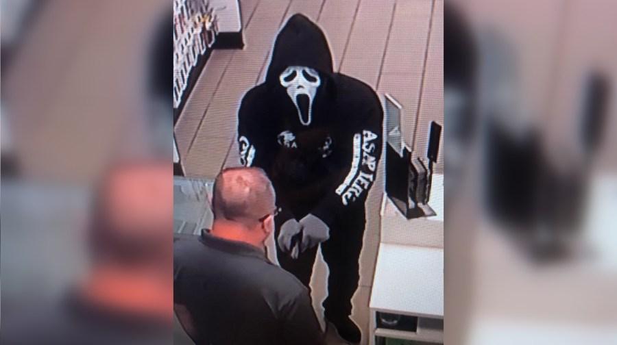 Scream robber - Franklin, Ky.
