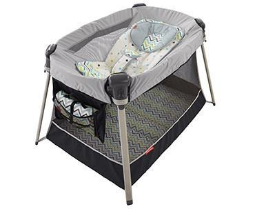 Recalled Fisher-Price inclined sleeper accessory for Ultra-Lite Day & Night play yards