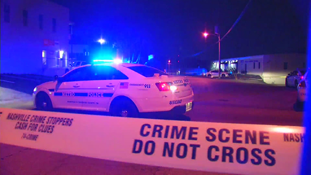 Grissom Drive Berry Hill shooting