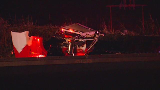 I-40 overturned semi Highway 109