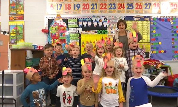 Thanksgiving kindergartners