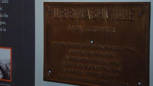USS Nashville Tennessee State Museum Veterans