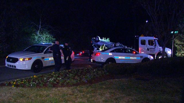 Hermitage Kroger carjacking crash