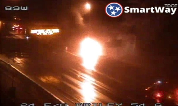 I-24 East Briley fatal crash