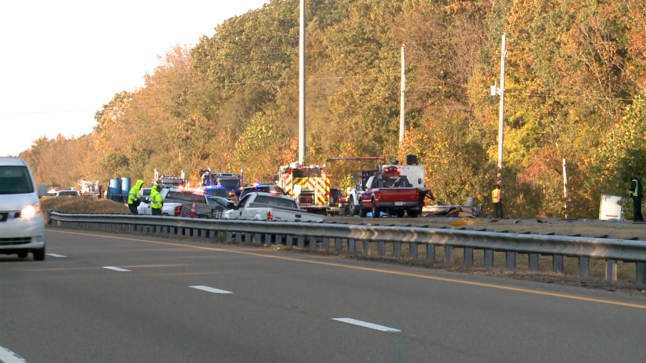 Deadly I-40 crash