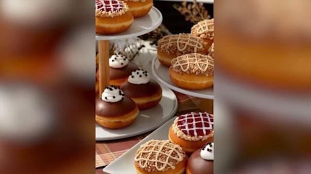 Krispy Kreme thanksgiving donuts