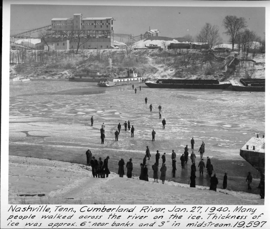 Frozen Cumberland River