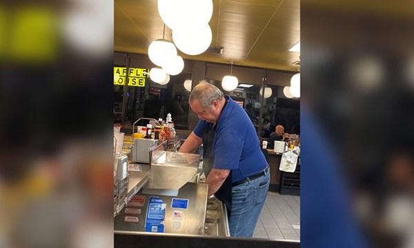 Waffle House helper