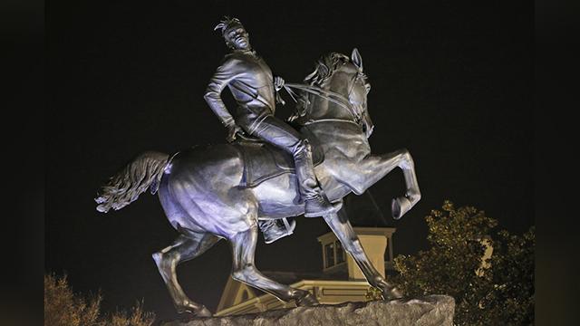new Richmond statue