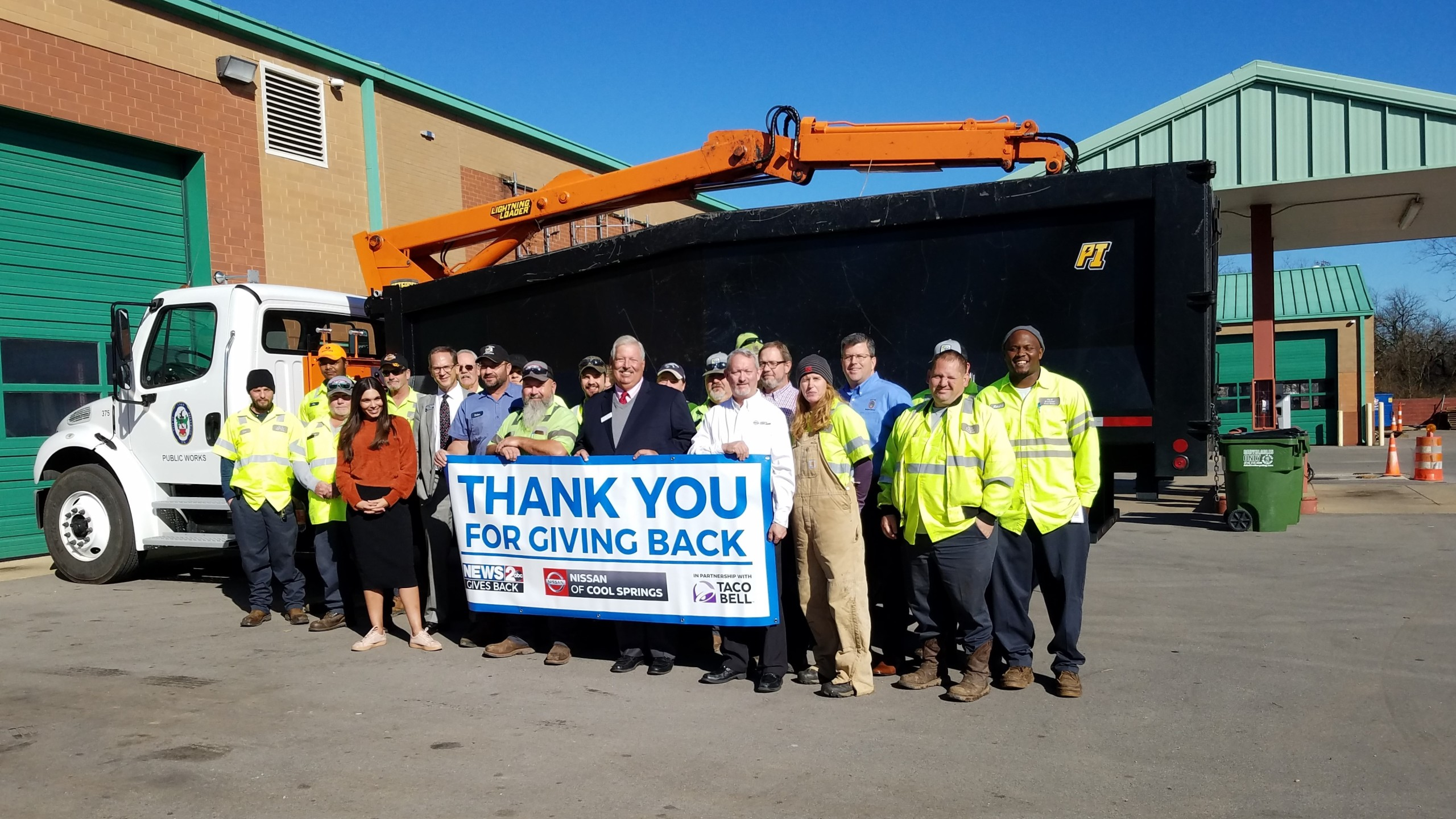 News 2 Gives Back: Brentwood Public Works