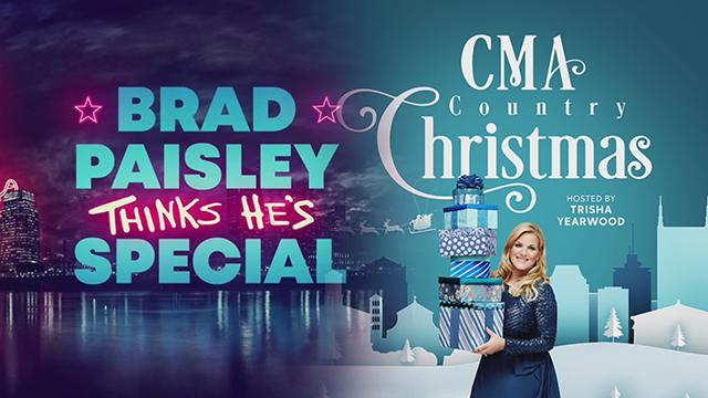 CMA Country Christmas Brad Paisley special