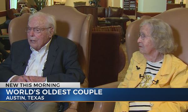 'World's Oldest Couple' celebrates 80th wedding anniversary