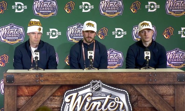 Preds at Winter Classic