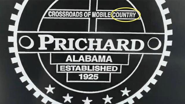 Prichard can typo