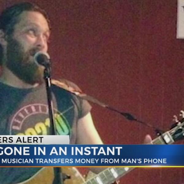Musician scammed