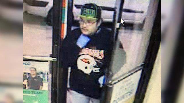 Mapco robbery suspect