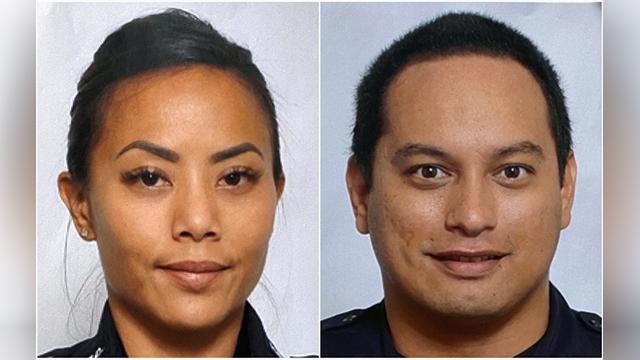 Fallen Hawaiian officers