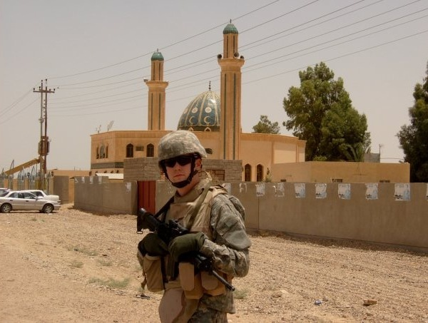 Eugene Bachman III served one tour in Iraq
