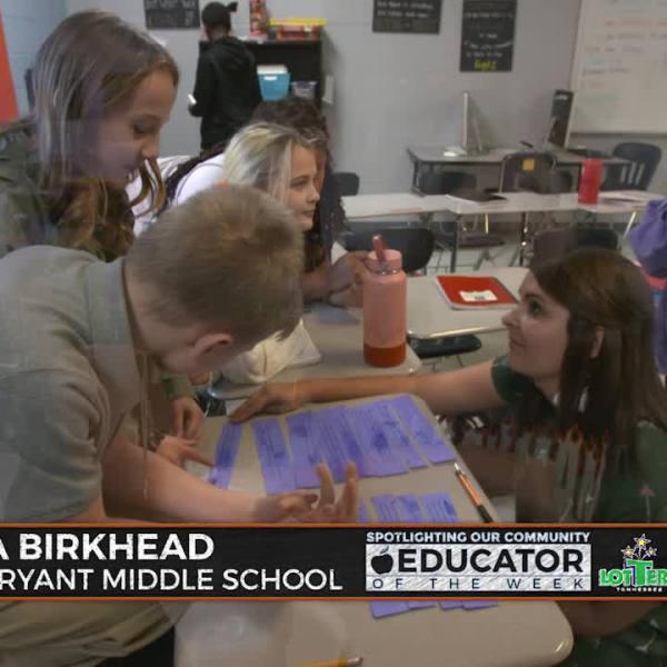 Kristina Birkhead – Winfree Bryant Middle School