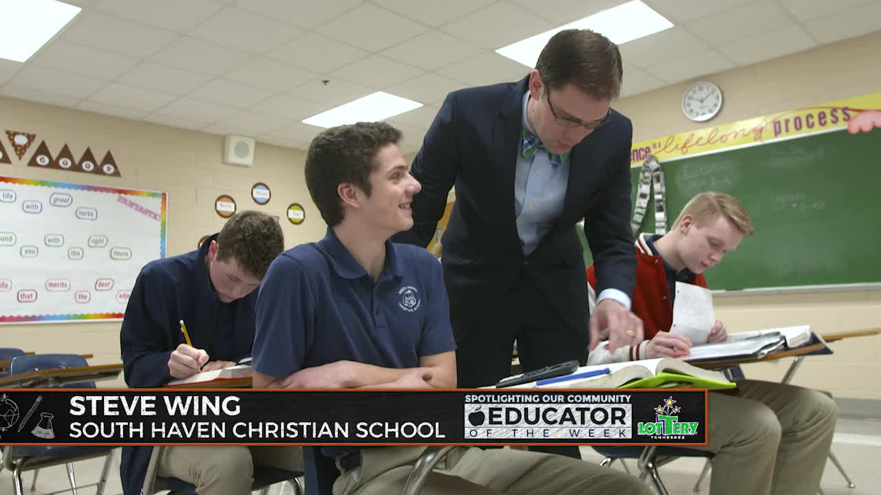 Steve Wing – South Haven Christian School