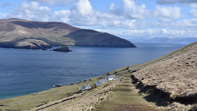 Remote Irish island