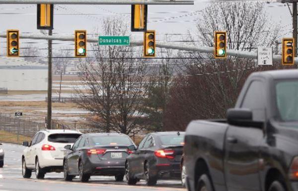 Traffic in South Nashville
