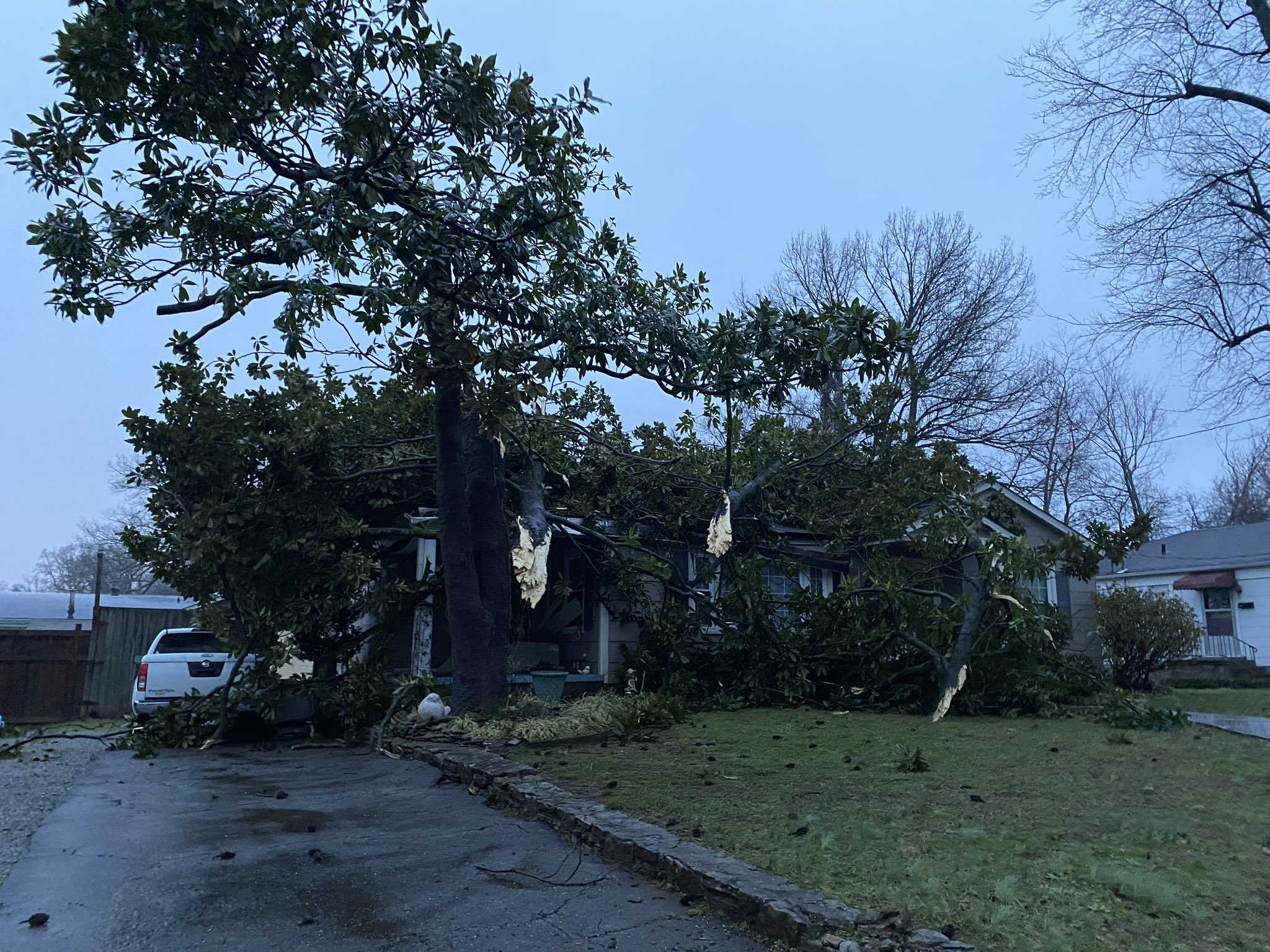 Lawrence County storm damage