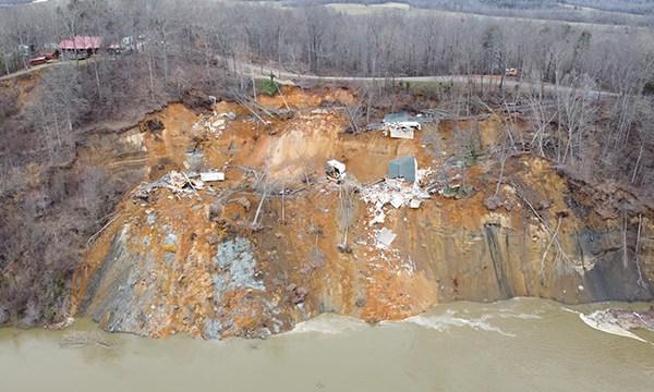 Hardin County landslide