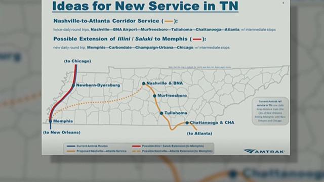 Amtrak Nashville to Atlanta
