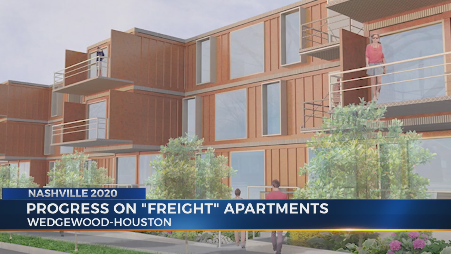 Shipping Container Apartments Closer To Completion In Wedgewood Houston Wkrn News 2