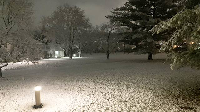 Cool Springs area snow (Courtesy: Steven Roth)