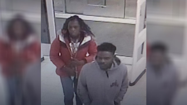 Cash reward for ID of snatch-and-grab shoplifters