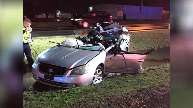 la vergne officer crash