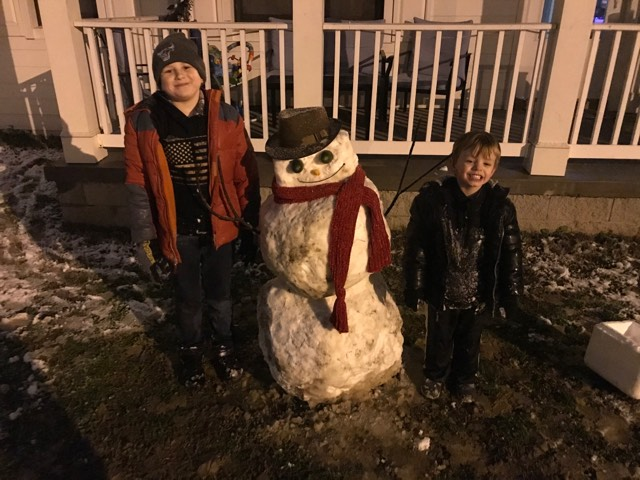 Lebanon snowman (Courtesy: Heather Lynn)