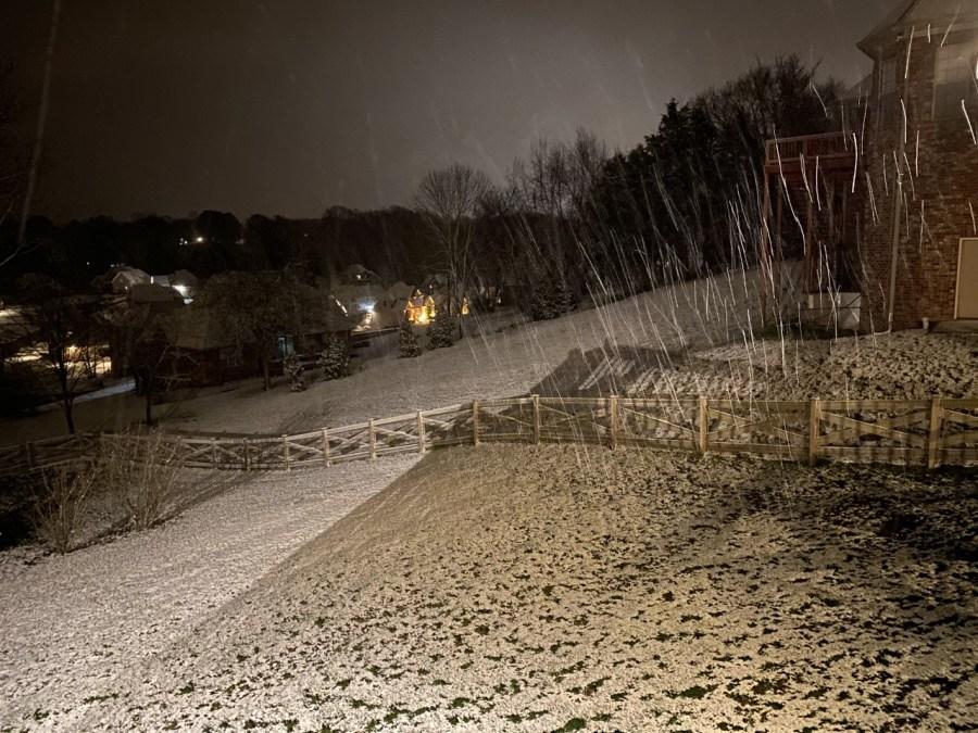Mt. Juliet snow (Courtesy: Elbert Tucker)