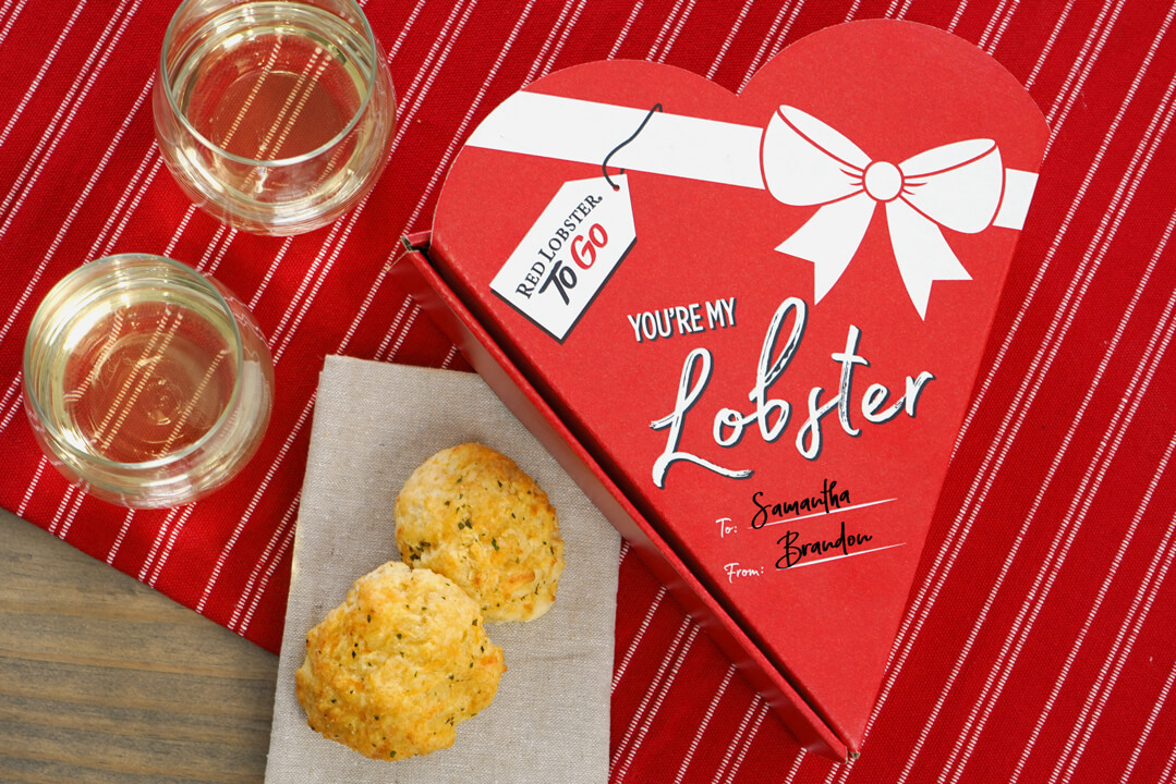 Valentines Day Cheddar Bay Biscuits Red Lobster