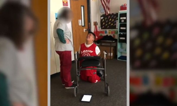 Colorado mom says teacher took video of disabled son to bully him