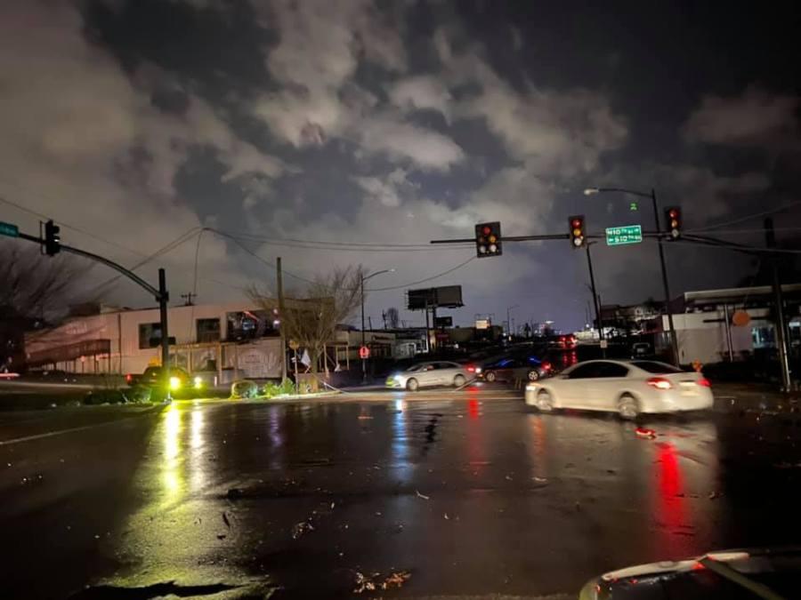 East Nashville damage