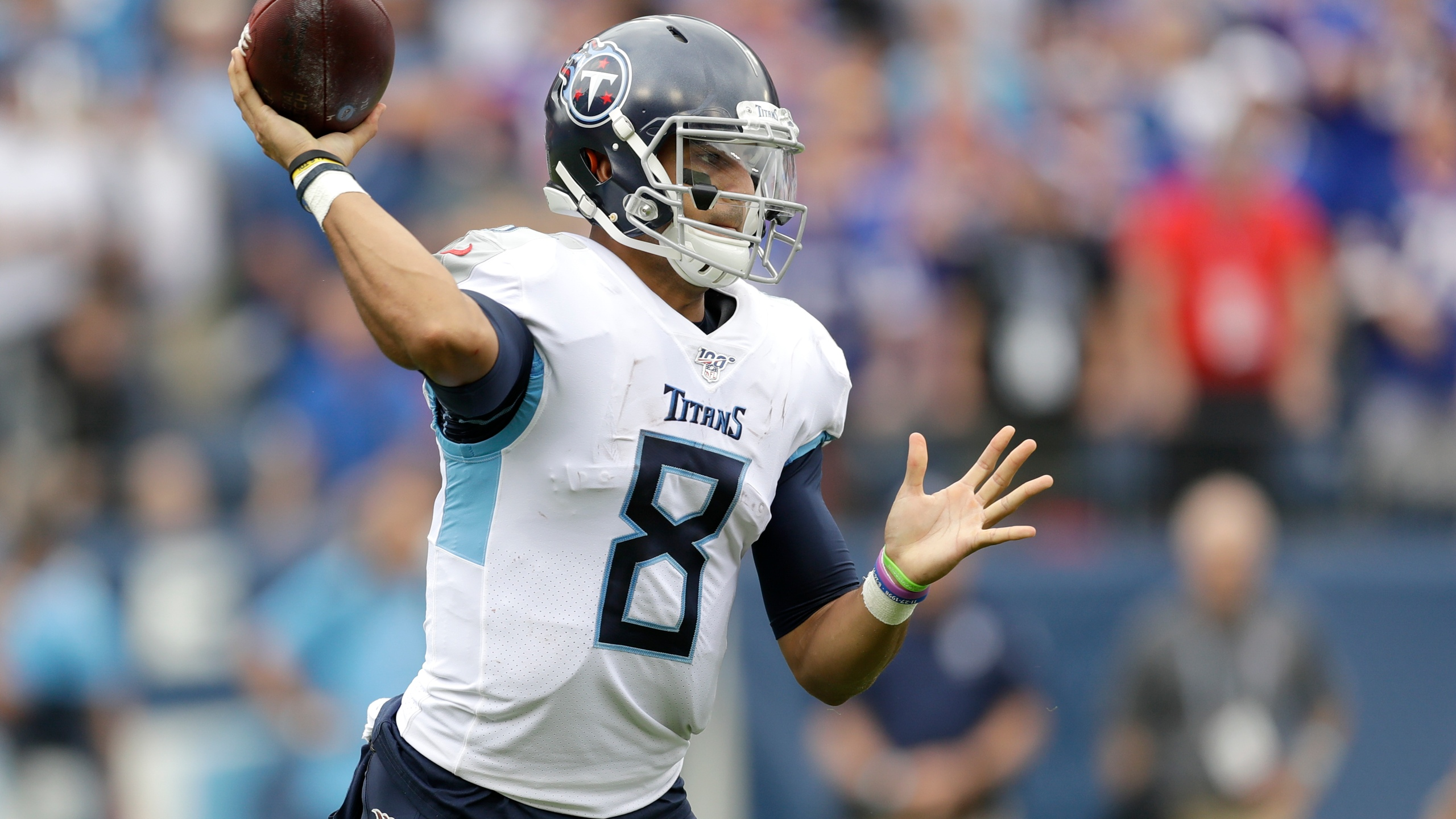 Marcus Mariota Agrees To Terms With Las Vegas Raiders Wkrn News 2
