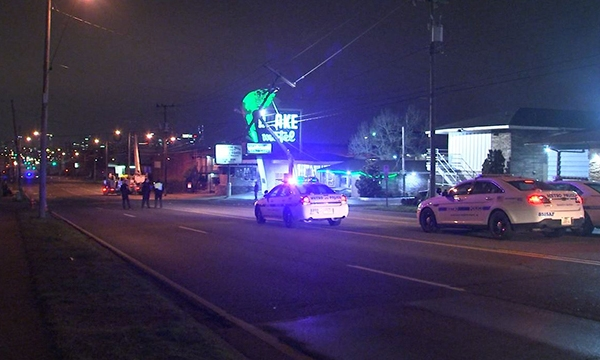 Murfreesboro Road closed