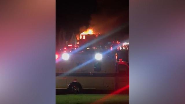 Arrington house fire