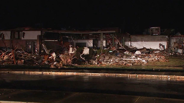 West Wilson Middle School damage