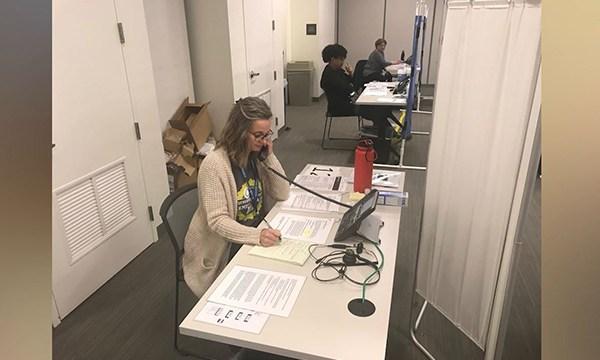 Health Department coronavirus call center