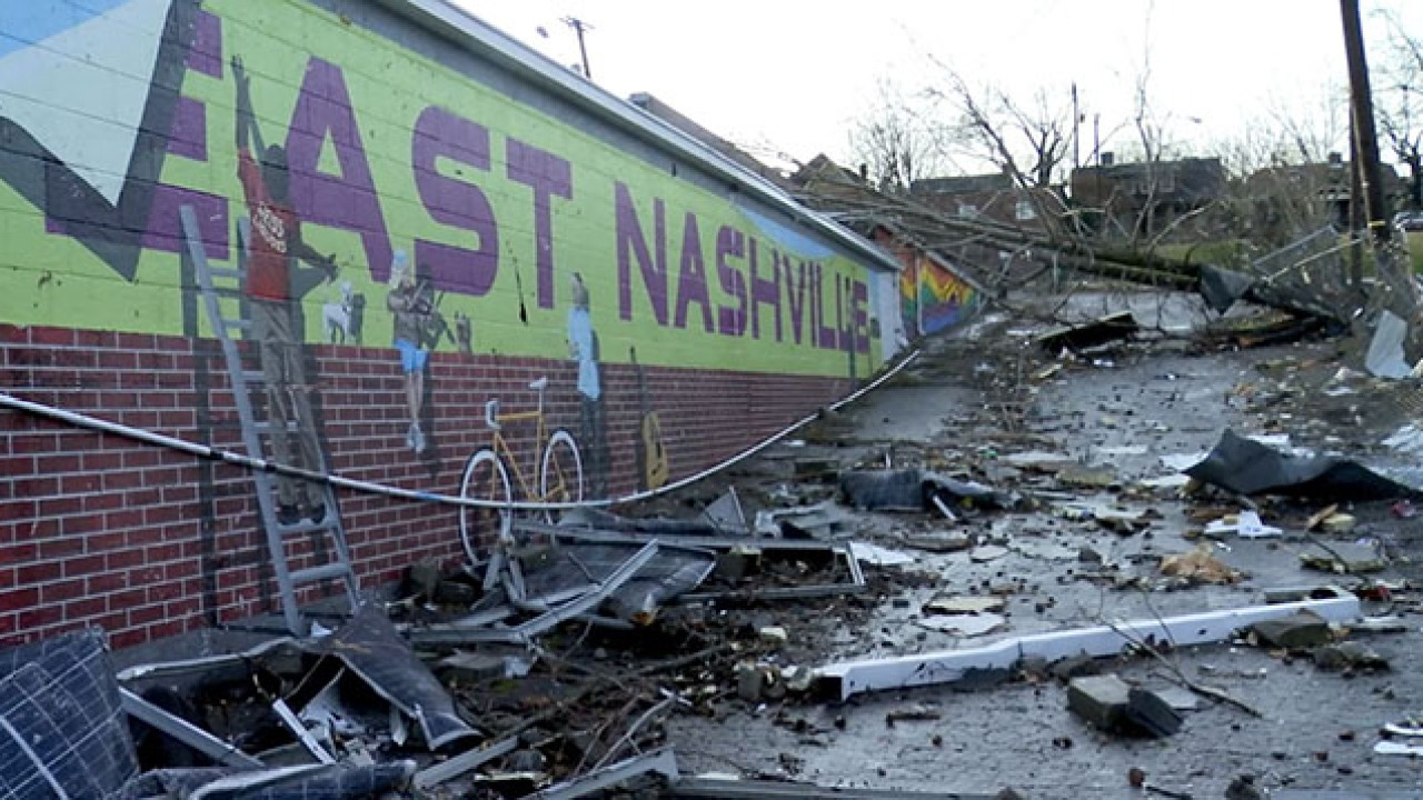 Before and After: A look at Nashville tornado outbreak ...