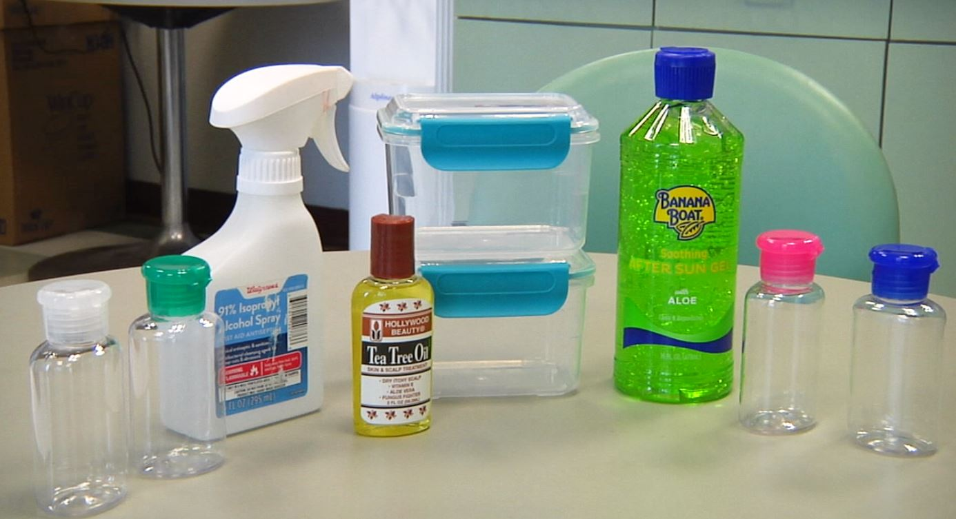 Make Homemade Hand Sanitizer
