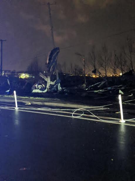 Damage at TSU