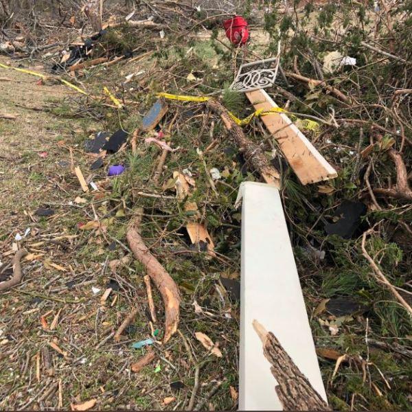 Tornado damage in Mt. Juliet