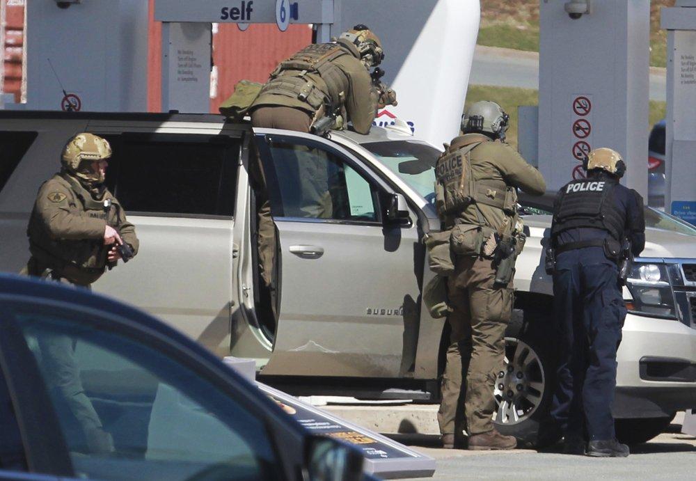 Canada mass shooting