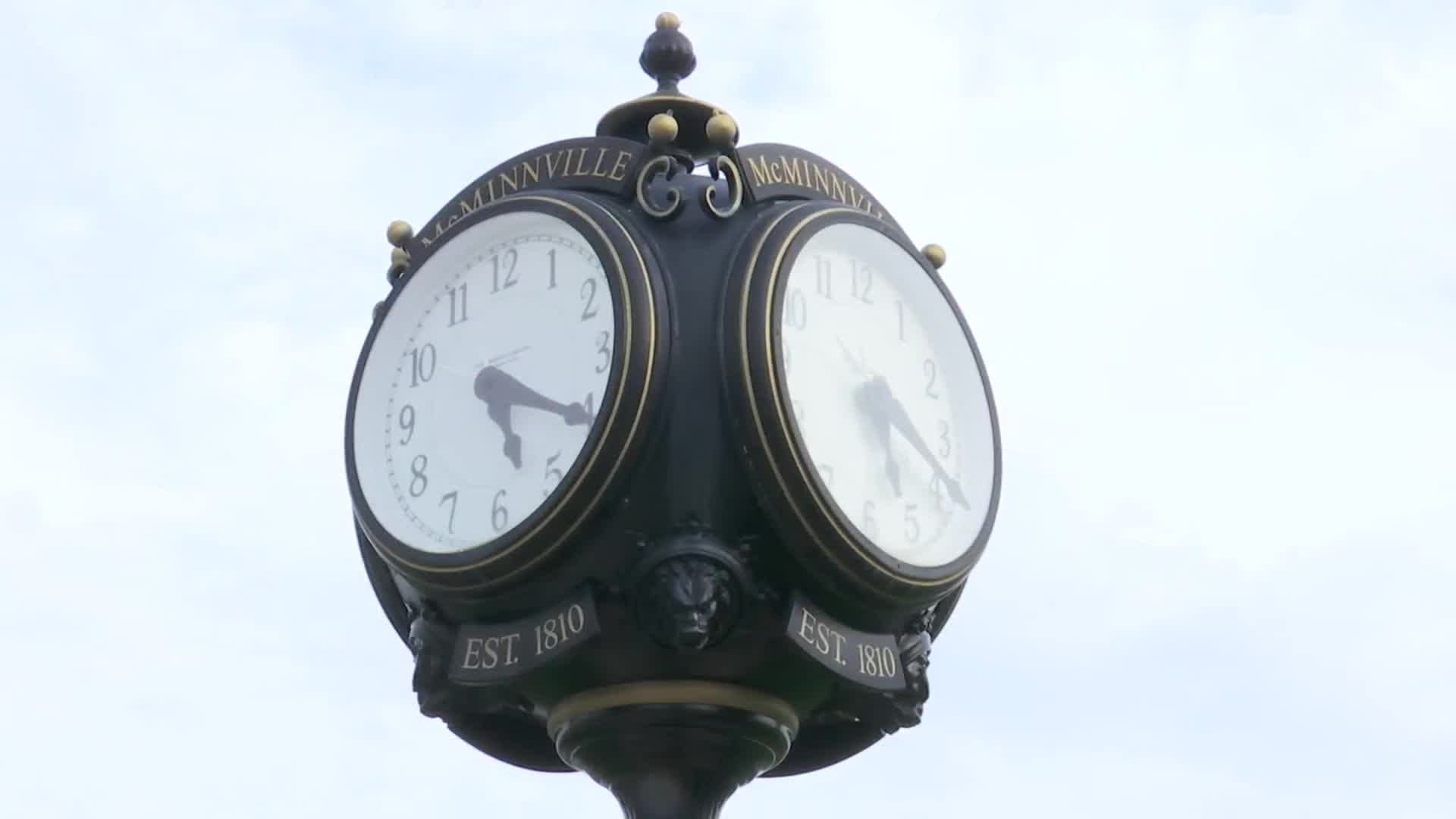 McMinnville Town Clock